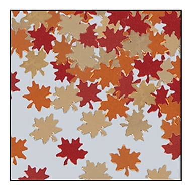 Fanci-Fetti Autumn Leaves, Contains a Total of 5 Ounces