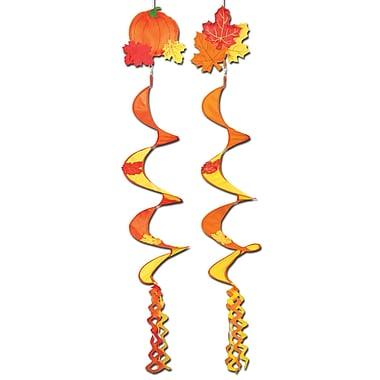 Moulins à vent d'automne, 3 pi 6 po, 12/paquet
