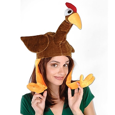 Plush Gobbler Hat, One Size Fits Most