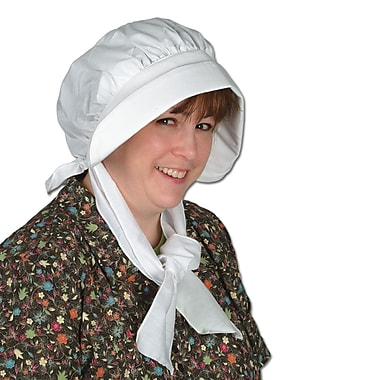 Pilgrim Bonnet, One Size Fits Most, 2/Pack