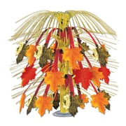 "Beistle 18"" Leaves Of Autumn Cascade Centerpiece, 3/Pack"