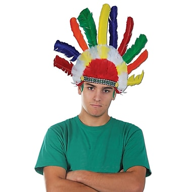 Indian Headdress, One Size Fits Most, 2/Pack