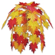 """Beistle 24"""" Fabric Fall Leaves Cascade, 2/Pack"""
