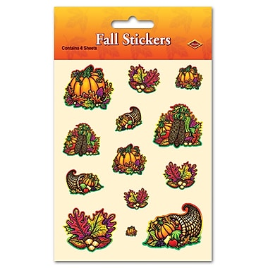 Autumn Splendor Stickers, 4-3/4