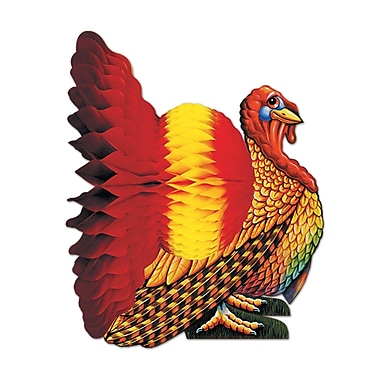 Tissue Turkey Centerpiece, 12