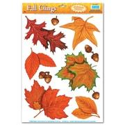 Appliqués feuilles d'automne, 12 x 17 po, 7 feuilles/paquet