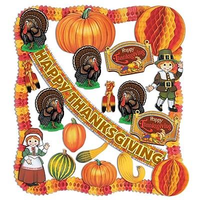 Beistle 24-Piece Thanksgiving Decorating Kit