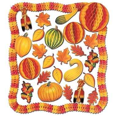 Beistle 28-Piece Fall Decorating Kit