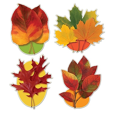 Autumn Leaf Cutouts, 16