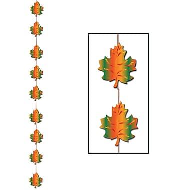 Chapelet feuilles d'automne, 6 pi 6 po, 6/paquet