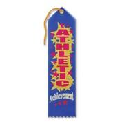 "Beistle 2"" x 8"" Athletic Achievement Award Ribbon, 9/Pack"