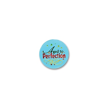 Aged To Perfection Satin Button, 2