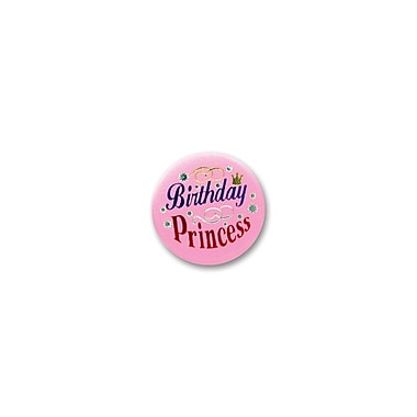 Birthday Princess Satin Button, 2