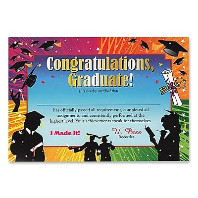 Beistle Congratulations Graduate Certificate, 5