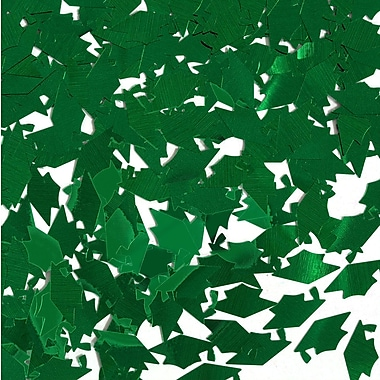Grad Caps Confetti, Green, 5/Pack