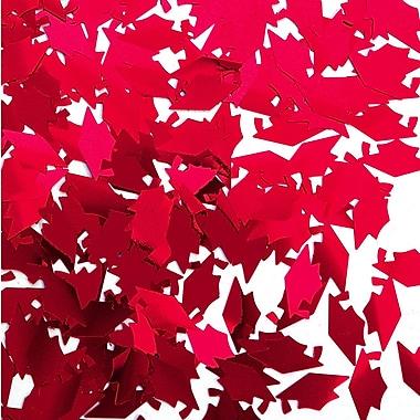 Confetti en forme de mortier, rouge, 5/paquet