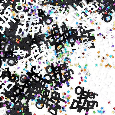 Confettis « Older Than Dirt », paquet de 5