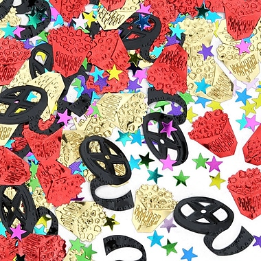 Beistle Movie Night Confetti, Multicolor, 5/Pack