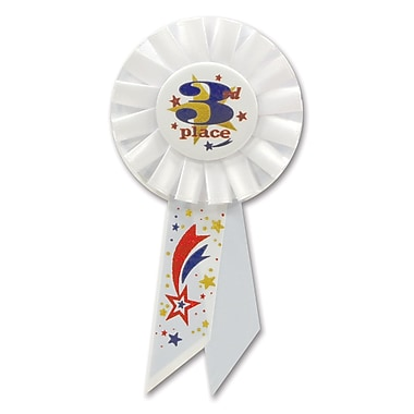 3rd Place Rosette, 3-1/4