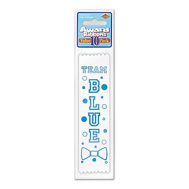 Team Blue Value Pack Ribbons, 1-1/2