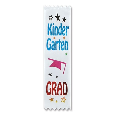 Kindergarten Grad Value Pack Ribbons, 1-1/2