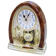 Rhythm Joyful Crystal Bells Table Clock