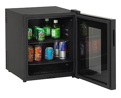 Avanti Deluxe Beverage Cooler, 1.7 cu. ft., Black 45231