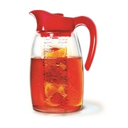Primula® PF-3739 2.9 qt. Tea Pitcher With Flavour Infuser, Red