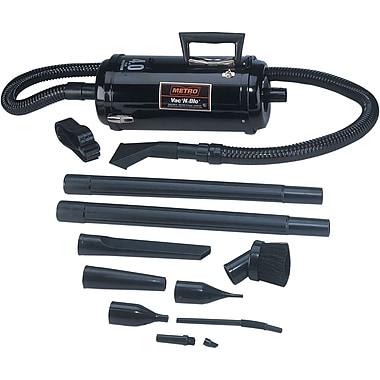 Metropolitan Vacuum Cleaner Vac 'N' Blo® Jumbo Car Vacuum Cleaner, Black