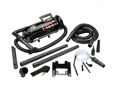 Metropolitan Vacuum Cleaner Vac 'N' Blo® Automotive Series Compact Wall Mount Vacuum Cleaner, Black