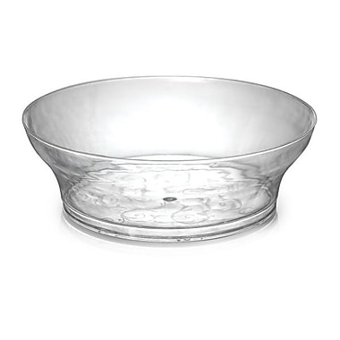 Savvi Serve Plastic Clear Bowl 240/Set 10 Oz.