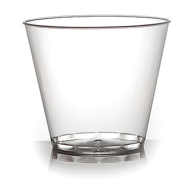 Savvi Serve Clear Plastic Cocktail Glasses, 9 Oz., 500/CT (409)