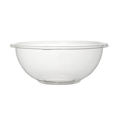 Super Bowl Recyclable Plastic Clear Salad Bowl PET 32 Oz.