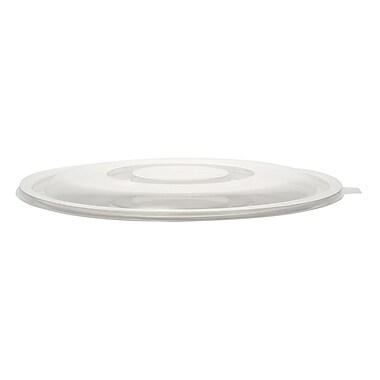 Super Bowl Plastic Flat Lid for Salad Bowls 48 Oz.