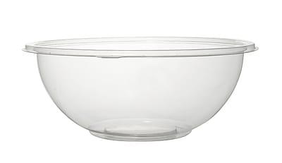Super Bowl Plastic Clear Salad Bowl 80 Oz.