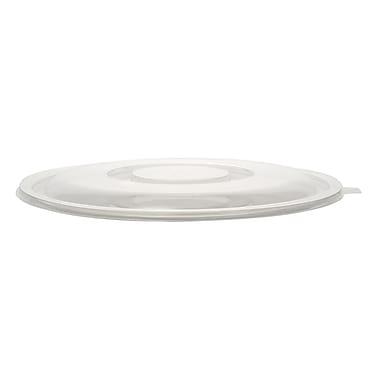 Super Bowl Plastic Clear Bowl Flat Lid 160 Oz.