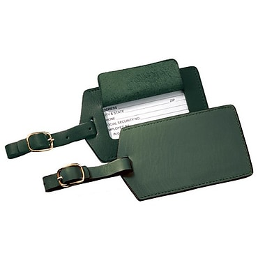 Royce Leather Classic Leather Luggage Tag, Debossing, Full Name