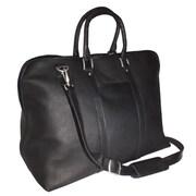 Royce – Sac de sport en cuir Vaquetta 25 po, noir