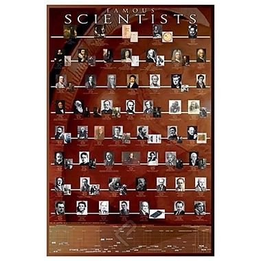 Famous Scientists, Stretched Canvas, 24