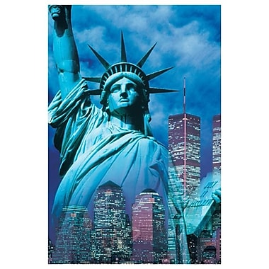 New York - Statue of Liberty, Stretched Canvas, 24