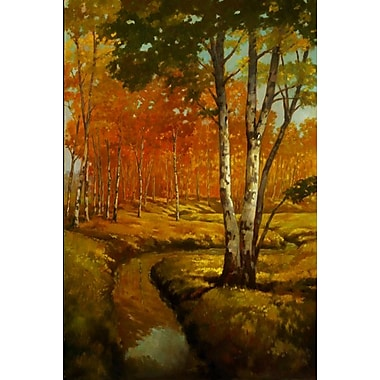 Woodland Stream II by Reynolds, Canvas, 24