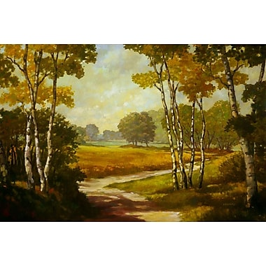 Country Walk I by Reynolds, Canvas, 24