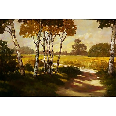 Country Walk II de Reynolds, toile, 24 x 36 po