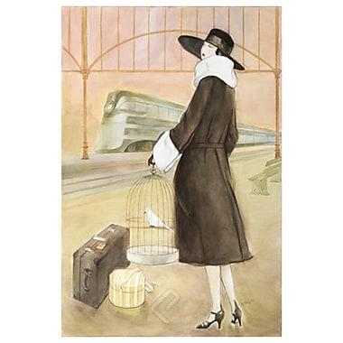 Lady Train Station de Reynolds, toile, 24 x 36 po