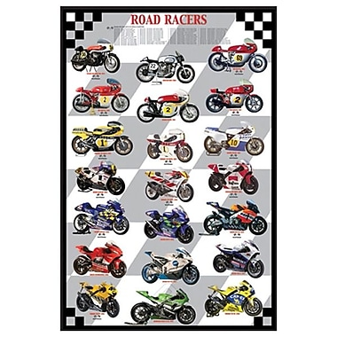 Road Racers, Stretched Canvas, 24
