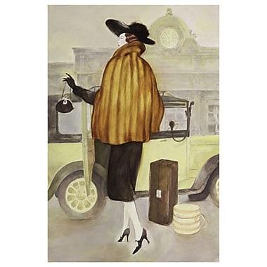 Taxi Lady de Reynolds, toile, 24 x 36 po