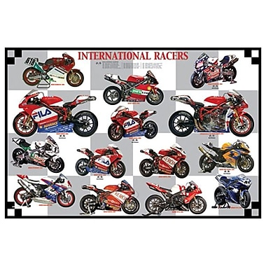 International Racers, Stretched Canvas, 24