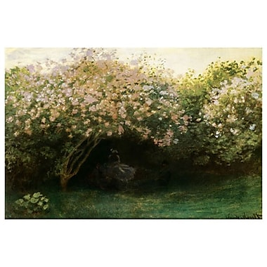 Repos sous les Lilas by Monet, Canvas, 24