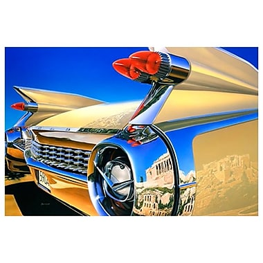Cadillac in Athens de Reynolds, toile, 24 x 36 po