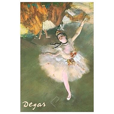 Ballerina de Degas, Art, toile, 24 x 36 po